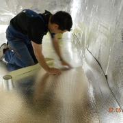 THERMA-DRY FLOOR and CRAWL SPACE MEMBRANE 400ft2 (4ft x 100ft)